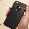 เคส iPhone 6 / 6s เคสนิ่ม Hybrid เกรดพรีเมี่ยม ลายหนัง (ขอบนูนกันกล้อง) แบบที่ 2 (มีเส้นตรงกลาง)