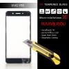 (มีกรอบ 3D แบบคลุมขอบ) ฟิล์มกระจกนิรภัย-กันรอย Vivo Y55S Tempered Glass 9H สีดำ