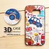 เคส Samsung Galaxy S7 เคสนิ่ม 3D พิมพ์ลายนูน London/England