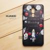เคส Huawei Mate 9 เคสนิ่ม TPU พิมพ์ลาย (ขอบดำ) แบบที่ 3