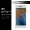 ฟิล์มกันรอย Nokia 3 แบบใส (วัสดุ TPU)