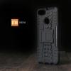 เคส Xiaomi Mi A1 เคสบั๊มเปอร์ กันกระแทก Defender (พร้อมขาตั้ง) สีดำ