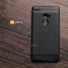 เคส Xiaomi Mi Mix 2 เคสนิ่มเกรดพรีเมี่ยม (Texture ลายโลหะขัด) กันลื่น ลดรอยนิ้วมือ สีดำ