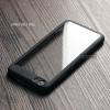 เคส Vivo V5 / V5s / V5 Lite เคสแข็ง Hybird ฝาหลังอะคริลิคใส ขอบยางกันกระแทก สีดำ