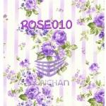 ROSE010 กระดาษแนพกิ้น 21x30ซม. ลายกุหลาบ