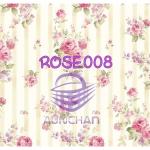 ROSE008 กระดาษแนพกิ้น 21x30ซม. ลายกุหลาบ