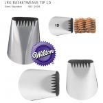 NO. 1D - LRG BASKETWEAVE TIP (Wilton 402-1004)