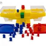 ตาชั่งหมี Junior Balance Education Toys สอนเด็กๆเรื่องการชั่งตวง ปริมาตร บวก-ลบ