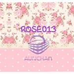 ROSE013 กระดาษแนพกิ้น 21x30ซม. ลายกุหลาบ