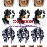 DOG009 กระดาษแนพกิ้น 21x30ซม. ลายสุนัข