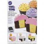 Wilton 2 Tone Cupcake Baking (2105-7783)