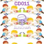 CD011 กระดาษแนพกิ้น 21x30ซม. ลายเด็ก