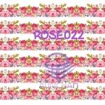 ROSE022 กระดาษแนพกิ้น 21x30ซม. ลายกุหลาบ