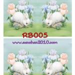 RB005 กระดาษแนพกิ้น 21x30ซม. ลายกระต่าย