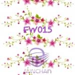 FW015 กระดาษแนพกิ้น 21x30ซม. ลายดอกไม้