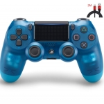 New PS4 Controller : Dual Shock 4 Blue Crystal