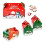 กล่องสีแดง Merry Christmas Snow Man