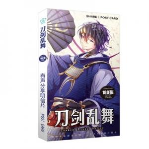 Preorder โปสการ์ด Touken Ranbu Sword Flurry Bread