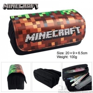 Preodrer กระเป๋าดินสอโลกของฉัน minecraft