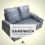 โซฟาเบด ฟองน้ำแน่น 180cm รุ่น Sandwich thumbnail 1