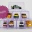 กล่องใสเก็บรถของเล่น กล่องเก็บรถเหล็ก Tomica hotwheel ต่อแบบเลโก้ได้หลายแบบ เซต 8 ชิ้น LEGO CAR BOX 8 PIECES SET thumbnail 1
