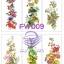 FW009 กระดาษแนพกิ้น 21x30ซม. ลายดอกไม้ thumbnail 1