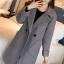 เสื้อโค้ทแฟชั่น Overcoat พร้อมส่ง สีเทา ตัวยาว คอปก สุดเท่ห์ Overcoat แนวดาราซีรี่เกาหลีใส่กันเลยนะคะ กระดุมหน้าเก๋ คัตติ้งสวย เนื้อผ้าดีมากค่ะ คุ้มค่าเกินราคาแน่นอนค่ะ ดูไฮโซ ใส่ไปต่างประเทศได้ สบายเลยค่ะ มีกระเป๋าสองข้าง มีซับใน งานเหมือนเป๊ะ thumbnail 6