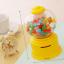 Candy Machine เครื่องหมุนลูกกวาด พร้อมเป็นกระปุกออมสิน สีเหลือง thumbnail 1
