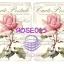 ROSE015 กระดาษแนพกิ้น 21x30ซม. ลายกุหลาบ thumbnail 1