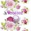 ROSE002 กระดาษแนพกิ้น 21x30ซม. ลายกุหลาบ thumbnail 1