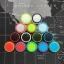 ซิลิโคนอนาล็อก แบบสีรอบวง (Xbox360 XboxOne PS4) thumbnail 1