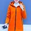 เสื้อกันหนาวสีส้ม ผ้าฟลีซ พร้อมส่ง มีฮูท อินเทรนสุดๆ สำหรับหนาวนี้ ใส่สบาย แบบเรียบเก๋ ซิบรูดใช้งานได้สะดวก thumbnail 1