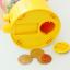 Candy Machine เครื่องหมุนลูกกวาด พร้อมเป็นกระปุกออมสิน สีเหลือง thumbnail 5