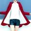 เสื้อกันหนาว สีแดงสด ผ้าฟลีซ พร้อมส่ง มีฮูท อินเทรนสุดๆ สำหรับหนาวนี้ มีซับใน ด้านในบุด้วยผ้าขนสัตว์ มีกระเป๋าใช้งานได้ค่ะ ใส่สบาย แบบเรียบเก๋ ซิบรูดใช้งานได้สะดวก thumbnail 3