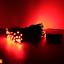 ES05 ไฟประดับโซล่าเซลล์ 100LED 12เมตร สีแดง thumbnail 2