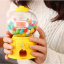 Candy Machine เครื่องหมุนลูกกวาด พร้อมเป็นกระปุกออมสิน สีเหลือง thumbnail 3
