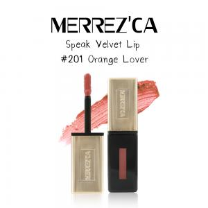 Merrez'Ca Speak Velvet Lip #201 Orange Love