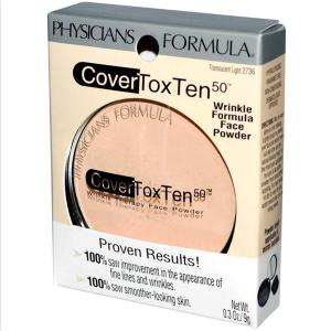 Physician's Formula CoverToxTen 50 Wrinkle Formula Face Powder Translucent Light