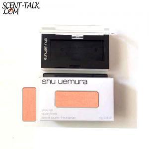 Shu Uemura Glow onl blush/refill #P soft peach 530 & Case