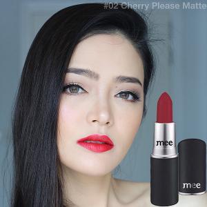 Mee Hydro Matte Lip Color #02 Cherry Please Matte