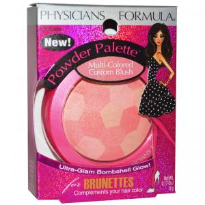Physicians formula powder palette multi-colored custom blush -Brunettes