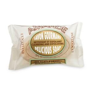 L'occitane Almond Delicious Soap สูตรทำความสะอาดผิวกาย - 50g