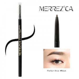 Merrez'ca Perfect brow Pencil #Black