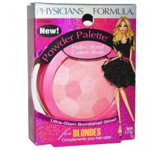 Physicians Formula Powder Palette Multi-Colored Custom Blush -Blondes