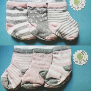 ถุงเท้า Carter's size 3-12 months