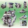 VB024 ของเล่น ทดลองวิทยาศาตร์ เสริมทักษะ เสริมพัฒนาการ Solar 7 in 1 Robot Space Fleet