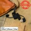 สายชาร์จโทรศัพท์ cheero Plate Cable with Lightning USB