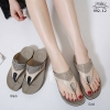 รองเท้าสุขภาพแบบใหม่เทรนด์เกาหลีพื้นสุขภาพคีบเพชร