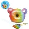 I350 สกุชชี่ YummiiBear Donut By Punimaru ขนาด 10 cm (Super soft) ลิขสิทธิ์แท้