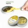 K247 Putty Slime สไมล์อเมริกา แม่เหล็ก รุ่นกากเพชร ขนาด 65 กรัม สีทอง